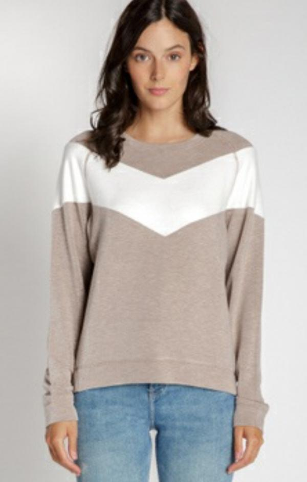 knit crew neck sweater for fall