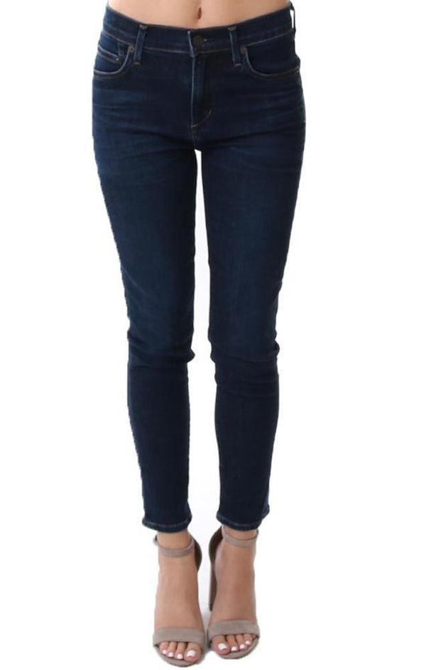 Blue Rocket Crop Jeans
