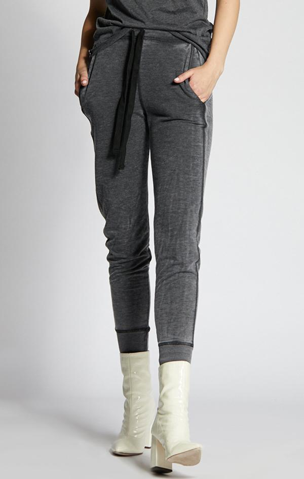 charcoal French Terry joggers