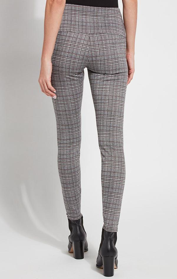 high waisted plaid leggings for fall