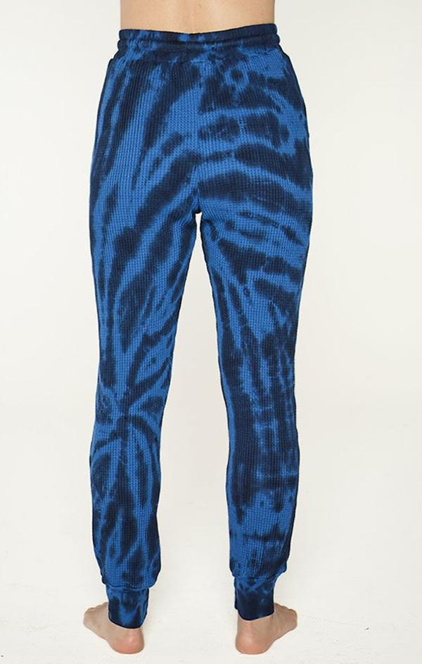 tie dye blue comfy lounge pants