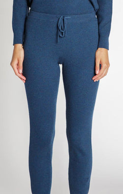 navy tie waist lounge pants