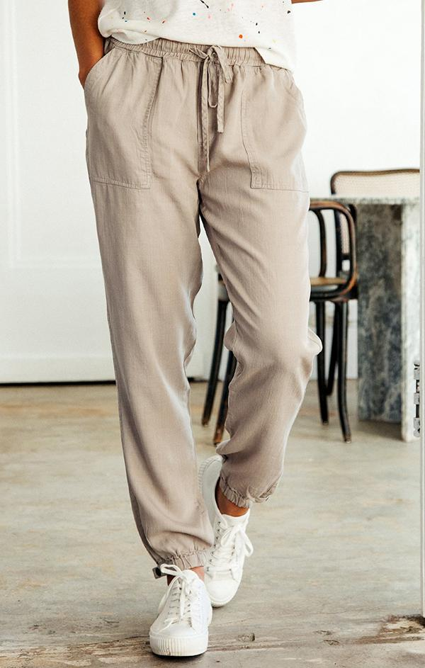 comfy lightweight jogger bottom pants
