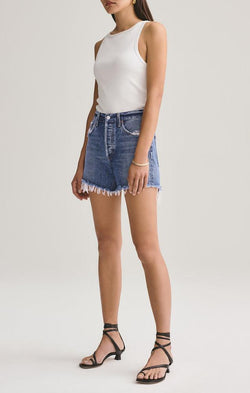 cutoff high waisted shorts