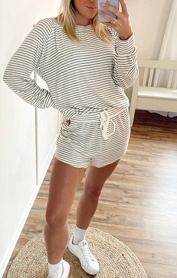 bobi lounge relaxed fit spring shorts