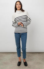 striped pullover summer knit
