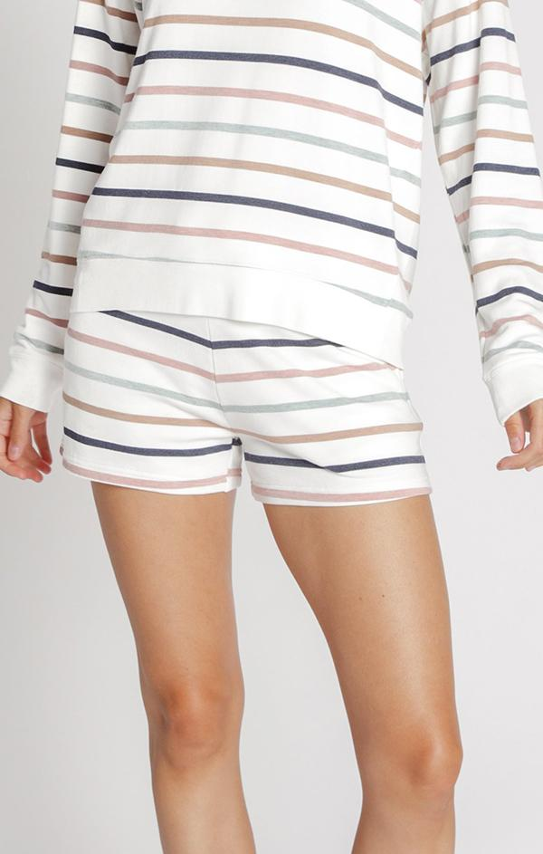 drawstring was it striped mini shorts for summer