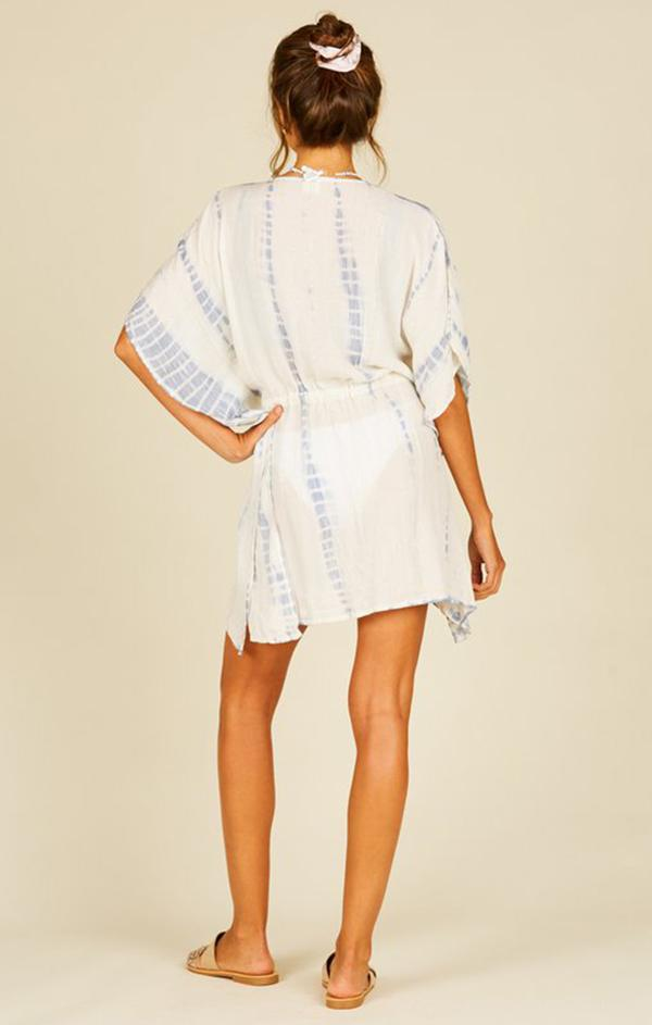 short wrap tassel tie summer bathing suit cover up