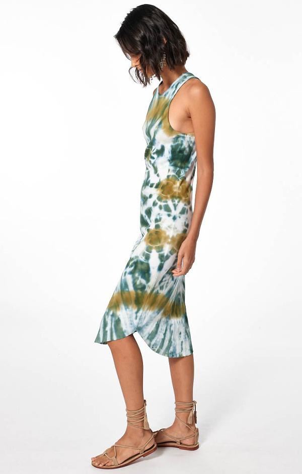 resort wear midi tank dress