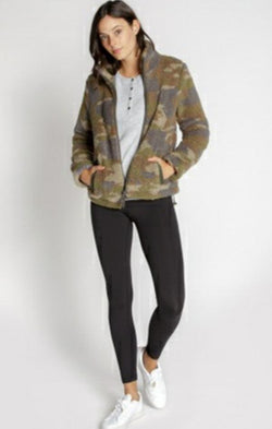 camo printed jacket for fall