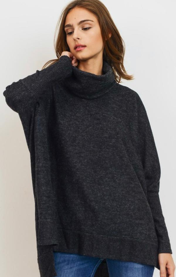 long sleeve fall knit top