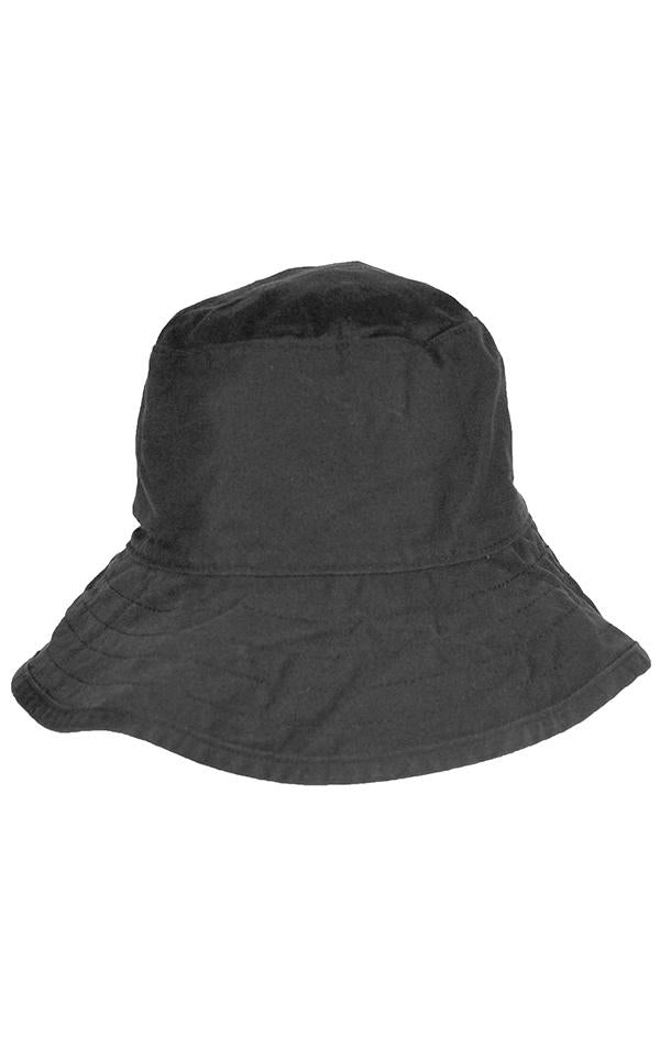 beach back cotton spa protection bucket hat