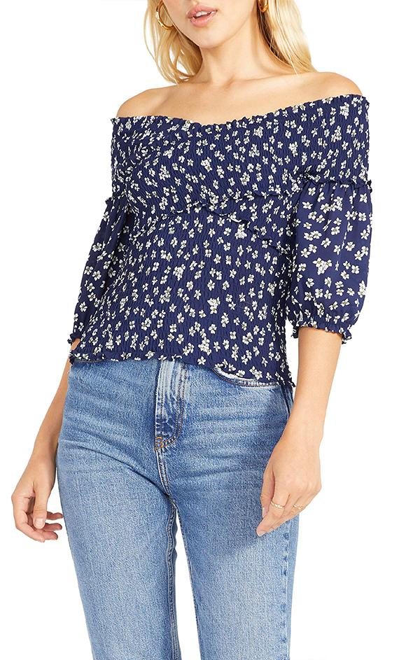 women's summer bb Dakota lost in yesterday blouse