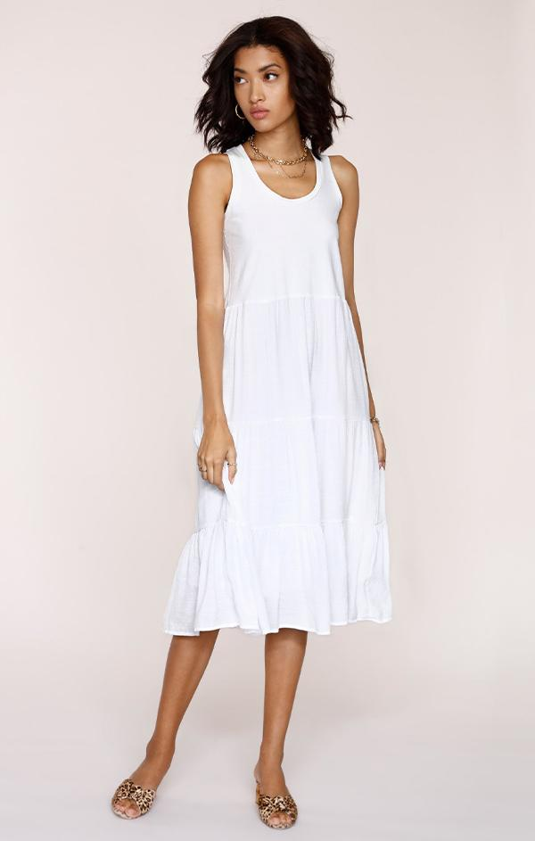 heartloom womens white eggshell Pryce Dress