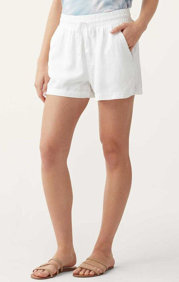 relaxed fit white baggy spring shorts