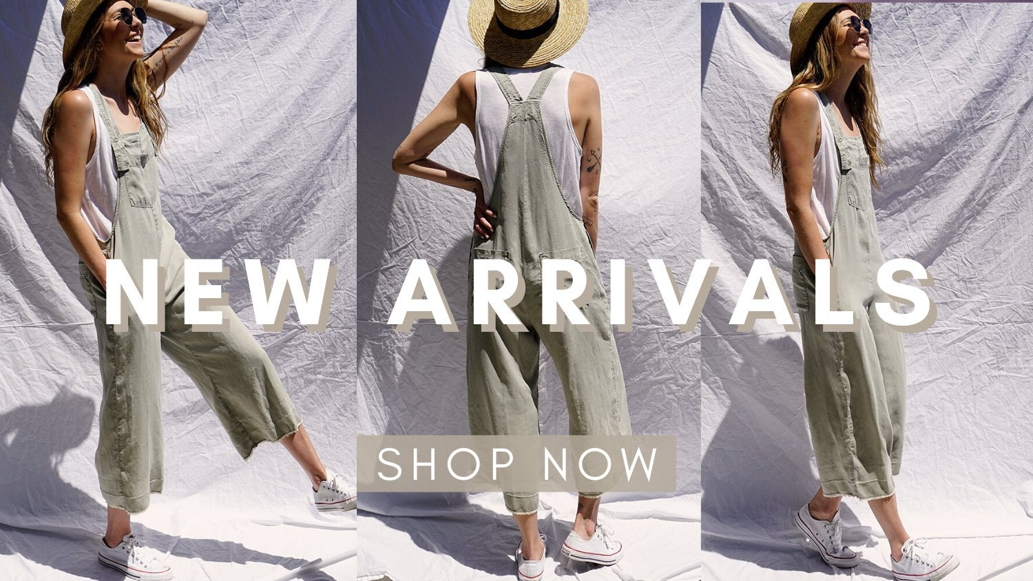 New arrivals for summer are here. Shop matching sets, dresses, jumpsuits, rompers and more.