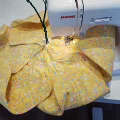 Giant Daffodil at Stitch #Janome