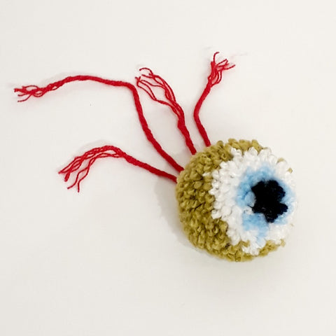 Eyeball Pom Poms at Stitch Studio UK