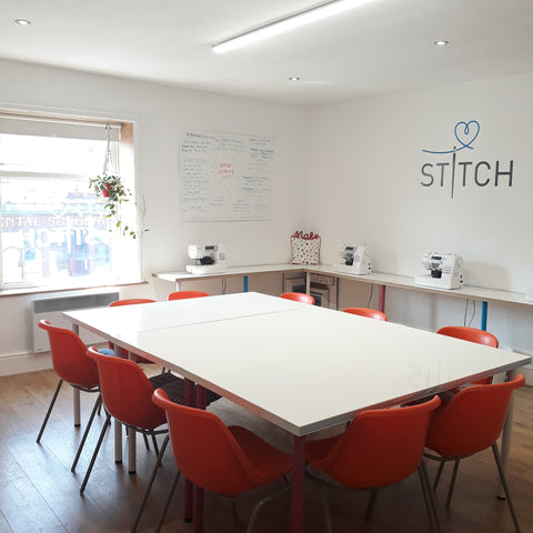 Stitch Studio main craft room