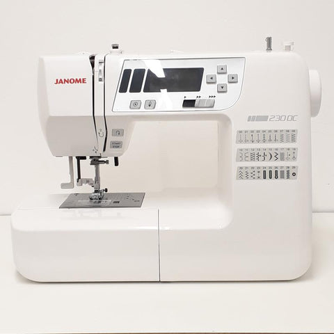 Janome 230DC Sewing machine at Stitch Studio UK