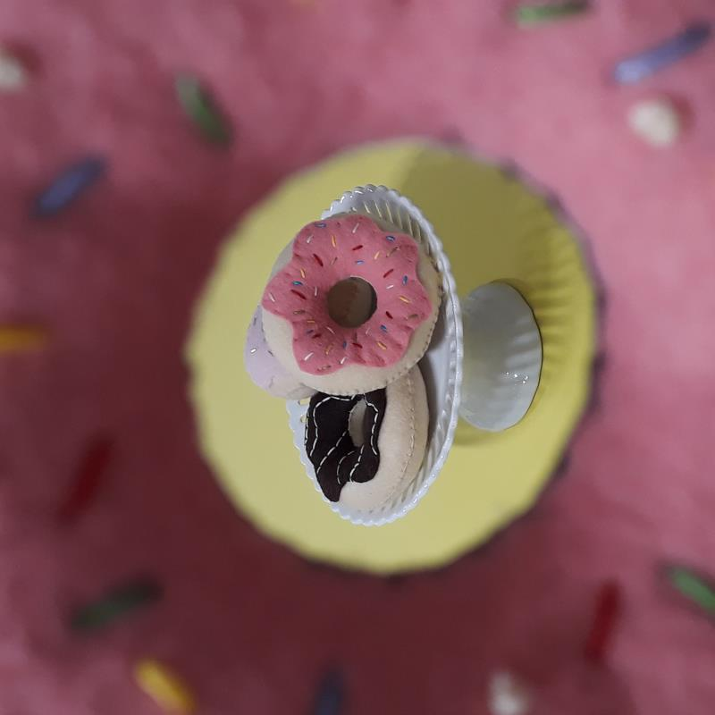 Make Felt Donuts Freckles and Co Sewing Tutorial