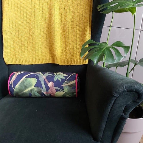 Make Bolster Cushions Freckles and Co sewing pattern and tutorial