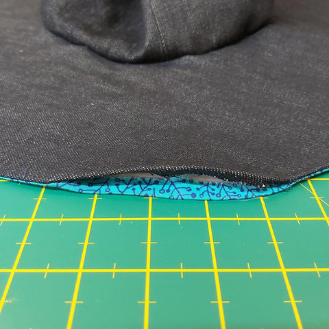 Freckles and Co #greystone sun hat sewing pattern tutorial