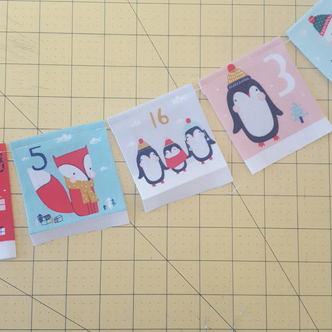 Make a Dashwood festive friends advent calendar instructions at Stitch