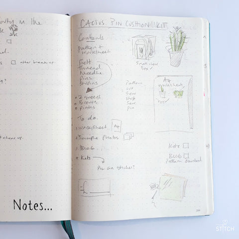 Bullet journal notes