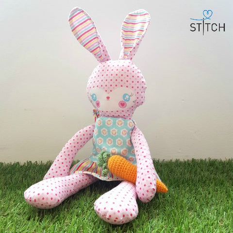 Riley Blake Sweet Home Buttercup Bunny at StitchStudioUK