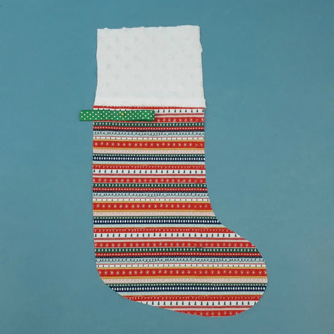 Christmas Stocking sewing instructions at Stitch Studio UK