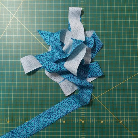 Freckles and Co how to make bias binding