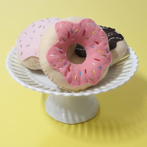Freckles and Co Felt Donuts