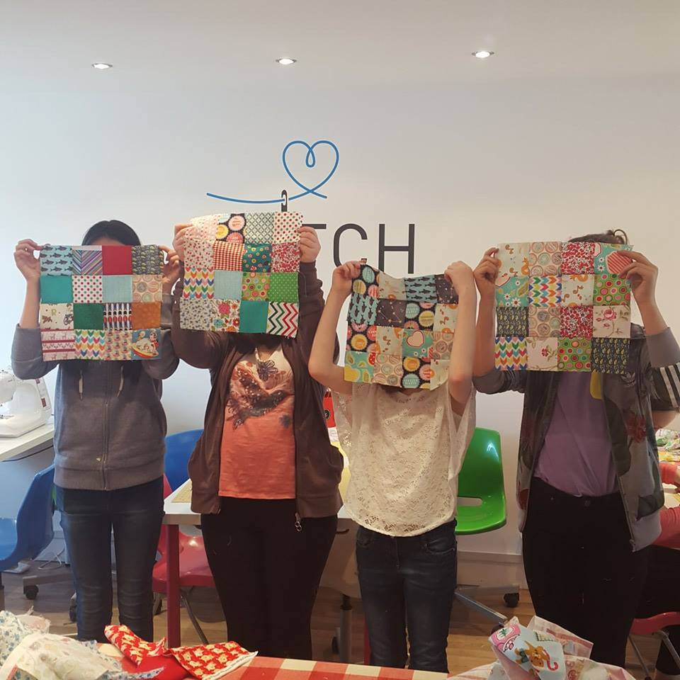 Kids sewing and craft Classes at Stitch Lancashire