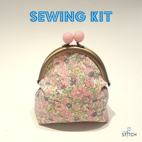 SEWING KIT - Penny Clasp Purse