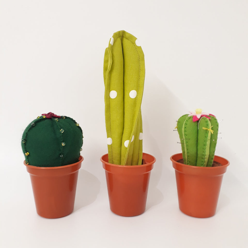 Cacti sewing pattern