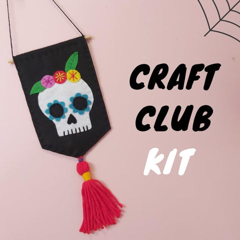 Freckles Skull Flag Craft Kit