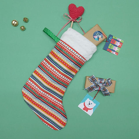 Christmas Stocking sewing workshop - ONLINE