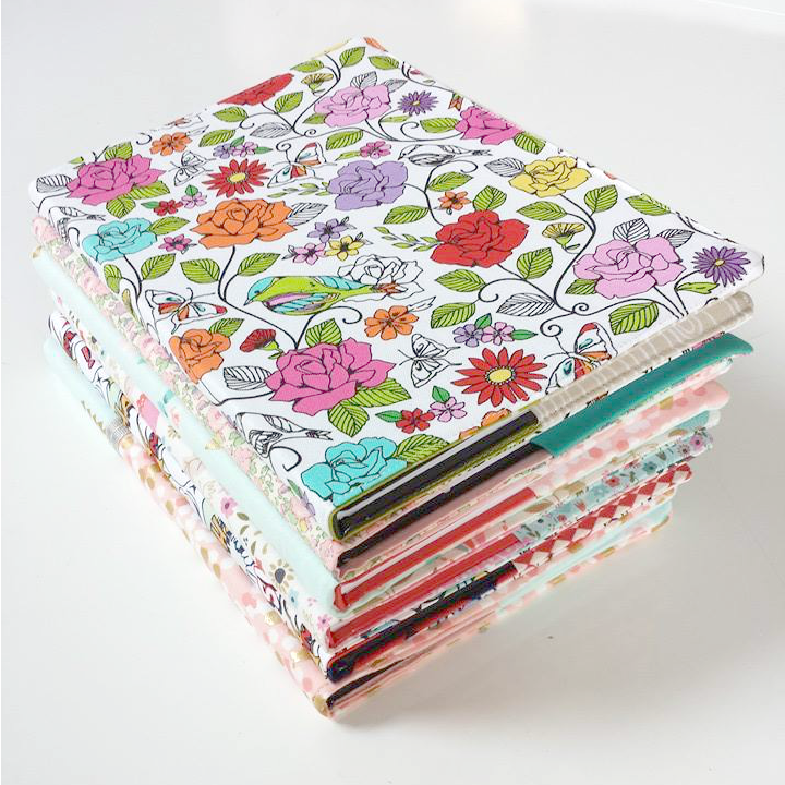 Make Fabric book covers with this pattern