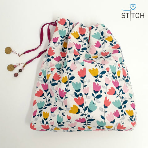 Drawstring bags - pattern and instructions