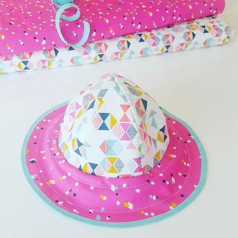 Kids sun hat - Pattern and Instructions
