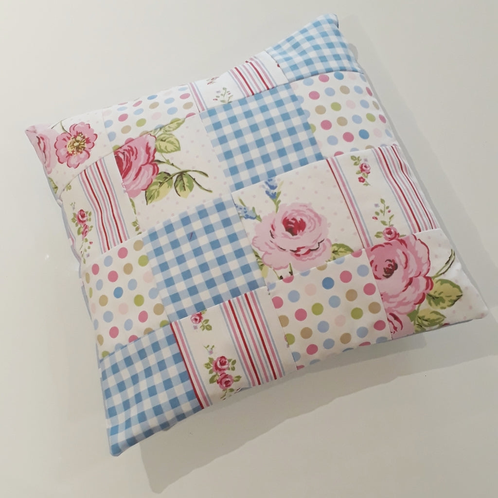 Make - Simple Patchwork cushion cover