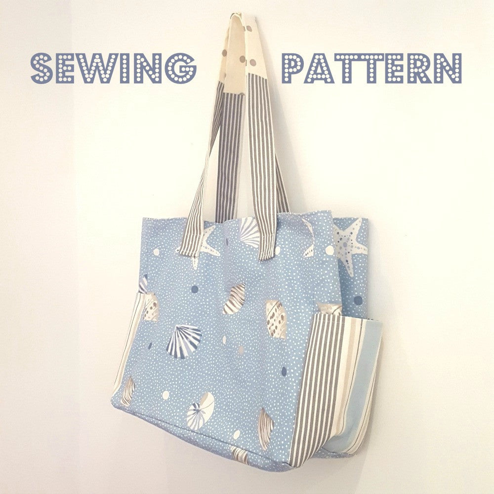 Shopper bag Sewing pattern and instructions at Stitch Studio UK