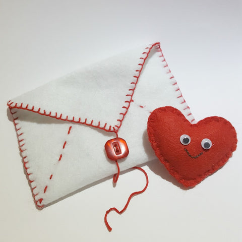 FREE pattern download Little Love Note