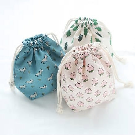 Kids Make - Drawstring pouches