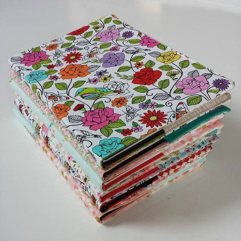 SEWING KIT - Fabric book cover