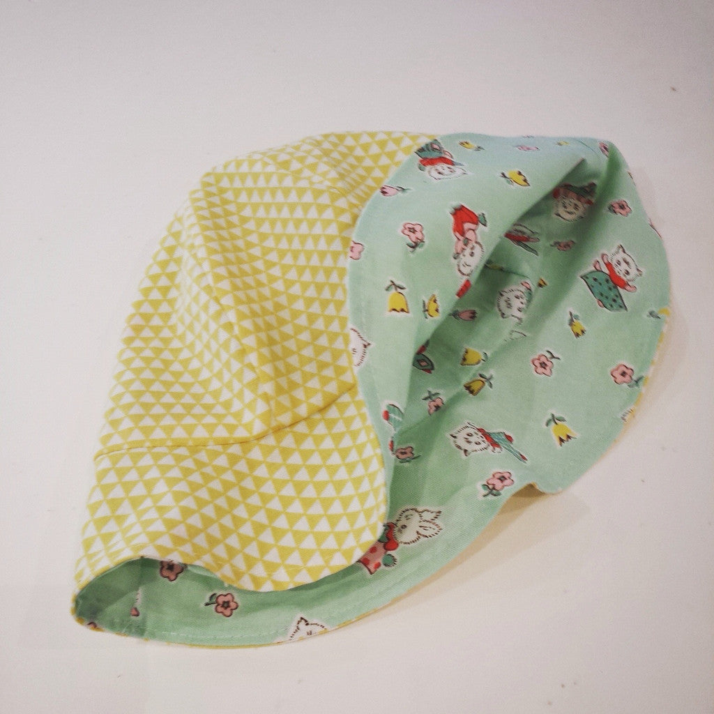 Kids reversible Sun Hat - To order