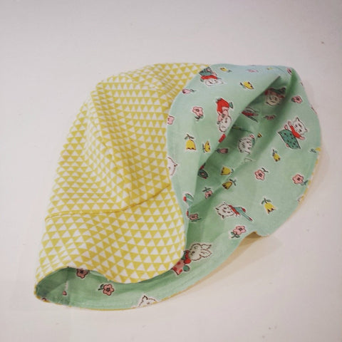 Kids sun hat sewing kit at Stitch Studio UK