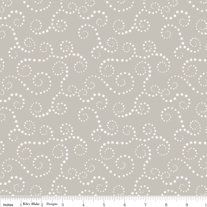 Riley Blake Oh Boy Swirls Sewing Fabric C3302