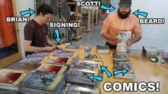 Signed ATOMIC ROBO comics!
